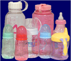 Bottles made from BPA/polycarbonate